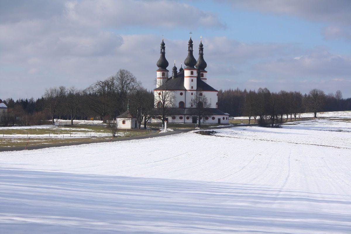 Wallfahrtskirche Kappl auf dem Glasberg